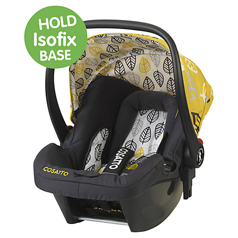 Buy Cosatto Giggle Hold Car Seat, Oaker Online at johnlewis.com