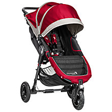 Buy Baby Jogger City Mini GT Pushchair, Crimson/Grey Online at johnlewis.com