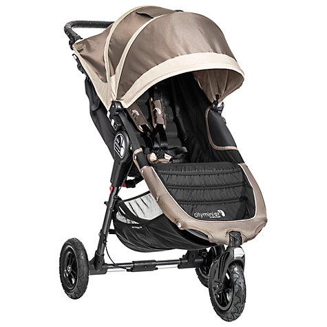 Buy Baby Jogger City Mini GT Pushchair, Sand/Stone Online at johnlewis.com