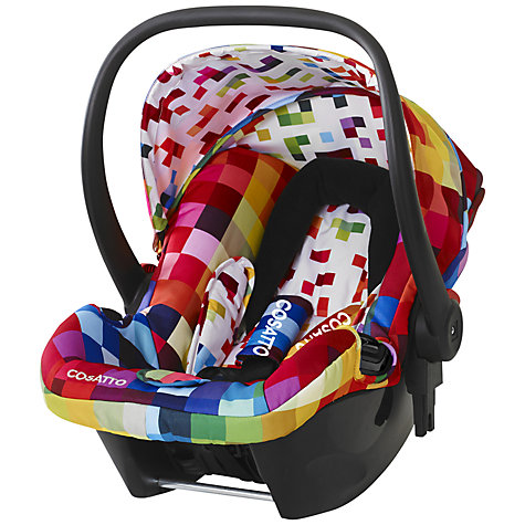 Buy Cosatto Giggle Hold Car Seat, Pixelate Online at johnlewis.com