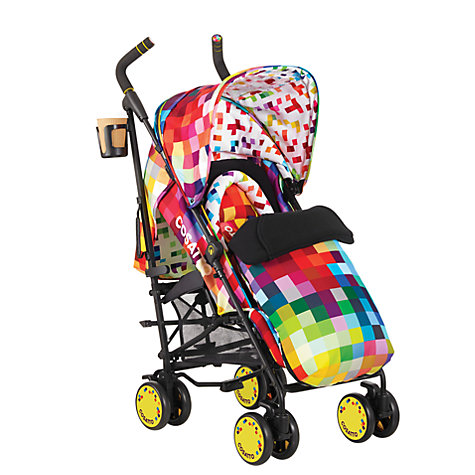 Buy Cosatto Supa Pushchair, Pixelate Online at johnlewis.com