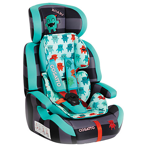 Buy Cosatto Zoomi Car Seat, Cuddle Monster Online at johnlewis.com