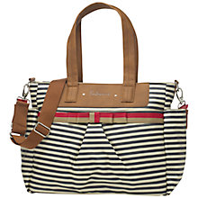 Buy Babymel Cara Changing Bag, Navy Stripe Online at johnlewis.com