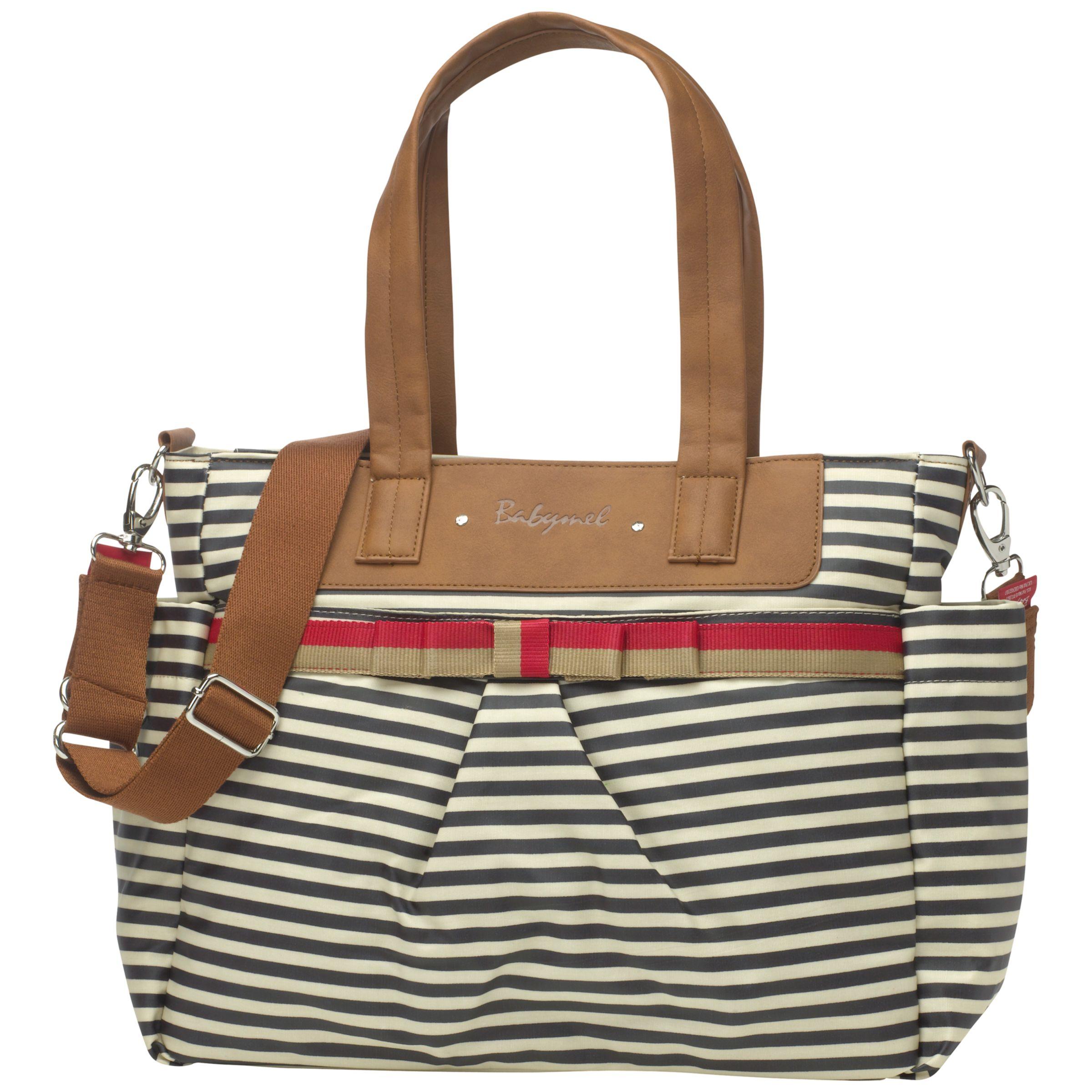 Babymel Babymel Cara Changing Bag, Navy Stripe