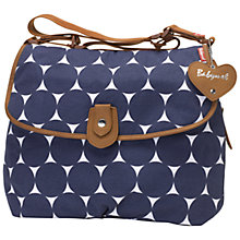 Buy Babymel Jumbo Satchel Changing Bag, Midnight Online at johnlewis.com