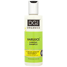 Buy DGJ Organics Hairjuice Honeydew Melon Everyday Shampoo, 250ml Online at johnlewis.com