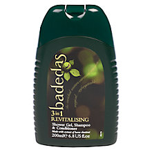 Buy Badedas Revitalising 3 in 1 Shower Gel, 100ml Online at johnlewis.com