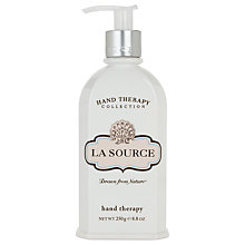 Buy Crabtree & Evelyn La Source Hand Therapy Cream, 250ml Online at johnlewis.com