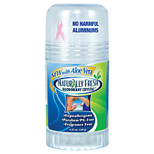 Buy Naturally Fresh Roll-On Aloe Vera Deodorant, 120ml Online at johnlewis.com
