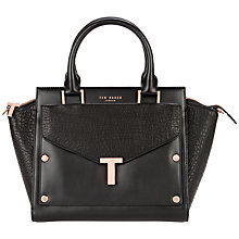Buy Ted Baker Layally Tote, Black Online at johnlewis.com