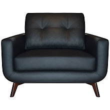 Buy John Lewis Barbican II Sofa Range, Madras Black Online at johnlewis.com