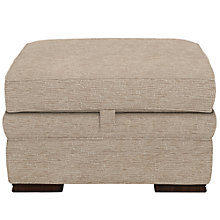 Buy John Lewis Romsey Footstool, Brambley Putty Online at johnlewis.com