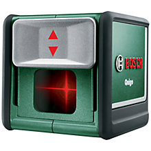 Buy Bosch Quigo Self Levelling Cross Line Laser Level Online at johnlewis.com