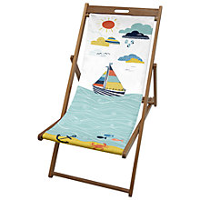 Buy John Lewis Boats Deck Chair Sling Online at johnlewis.com