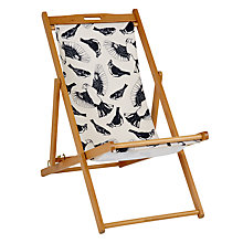 Buy John Lewis Birds Outline Deck Chair Sling Online at johnlewis.com