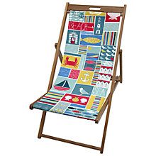 Buy John Lewis Coastal Deck Chair Sling Online at johnlewis.com