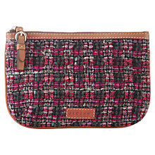 Buy Jigsaw Tweed Makeup Bag Online at johnlewis.com