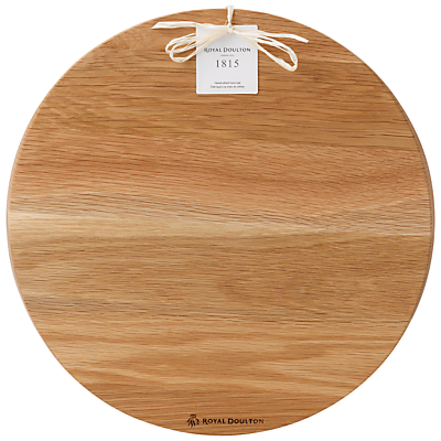Royal Doulton 1815 Pizza Board, Brown