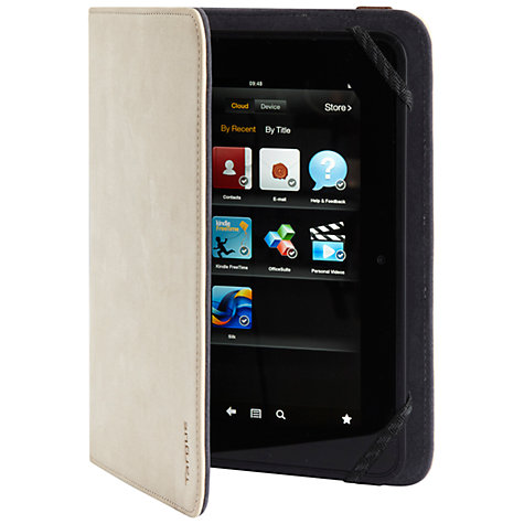 "Buy Targus Denim Folio Stand Case for Kindle Fire HD 7"" & Kindle Fire HDX 7"" Online at johnlewis.com"