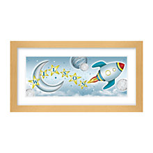 Buy Lillypea Personalised Whoosh Framed Print, 23.2 x 34.5cm Online at johnlewis.com