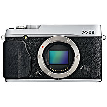 "Buy Fujifilm X-E2 Compact System Camera, HD 1080p, 16.7MP, EVF, 3"" LCD Screen, Body Only Online at johnlewis.com"