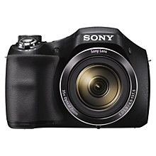 "Buy Sony Cyber-Shot DSC-H300 Bridge Camera, HD 1080p, 20.1MP, 35x Optical Zoom, 3"" LCD Screen Online at johnlewis.com"