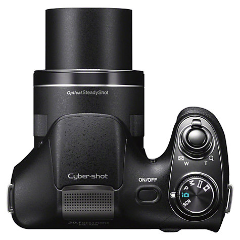 Buy Sony Cyber-Shot DSC-H300 Bridge Camera, HD 1080p, 20.1MP, 35x Optical Zoom, 3 LCD Screen Online at johnlewis.com