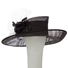 Buy Walter Wright Tori Flower & Net Detail Wide Brim Occasion Hat Online at johnlewis.com