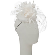 Buy Walter Wright Jane Smartie Pillbox Hat Fascinator, Ivory Online at johnlewis.com