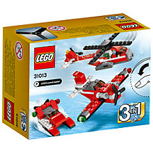 Buy LEGO Creator 3-in-1 Red Thunder Online at johnlewis.com