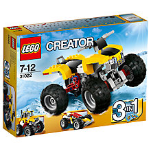 Buy LEGO Creator Turbo Quad Online at johnlewis.com