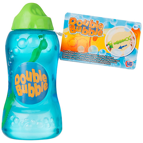Buy Double Bubble Solution and Wand, 236ml Online at johnlewis.com