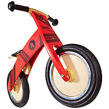 Buy Kiddimoto Kurve Bike, Red Online at johnlewis.com