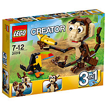 Buy LEGO Creator Forest Animals Online at johnlewis.com