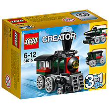 Buy LEGO Creator 3-in-1 Emerald Express Online at johnlewis.com