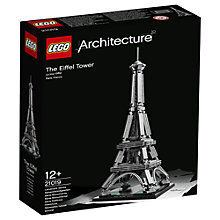 Buy LEGO Architecture Eiffel Tower Online at johnlewis.com