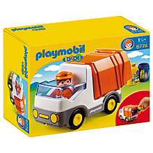 Buy Playmobil 123 Recycling Truck Online at johnlewis.com