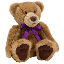 Buy John Lewis Daisychain Print Ribbon Teddy Bear, Large Online at johnlewis.com