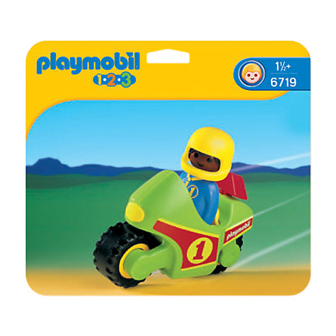 Buy Playmobil 123 Motor Bike Online at johnlewis.com