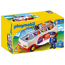 Buy Playmobil 123 Airport Bus Online at johnlewis.com