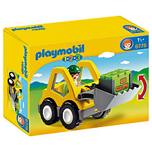 Buy Playmobil 123 Excavator Online at johnlewis.com