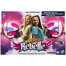 Buy Nerf Rebelle Power Pair Online at johnlewis.com