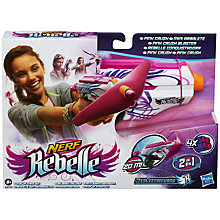 Buy Nerf Rebelle Pink Crush Blaster Online at johnlewis.com