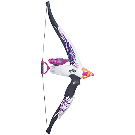 Buy Nerf Rebelle Heartbreaker Bow Blaster, Assorted Online at johnlewis.com