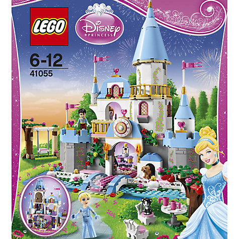 Buy LEGO Disney Princess Cinderella's Romantic Castle Online at johnlewis.com