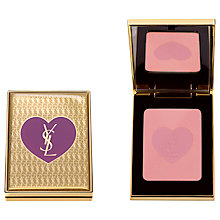 Buy Yves Saint Laurent Christmas Pink Blusher Compact with Mirror Online at johnlewis.com