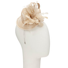 Buy John Lewis Sinamay 2 Loop Disc Fascinator Online at johnlewis.com