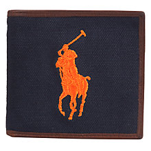 Buy Polo Ralph Lauren Canvas Polo Player Wallet Online at johnlewis.com