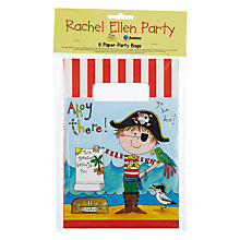 Buy Rachel Ellen Pirate Party Bags, Multi, Pack Of 8 Online at johnlewis.com