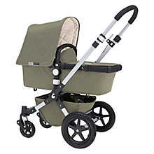 Buy Bugaboo Cameleon3 Pram Base with Khaki Fabric Online at johnlewis.com